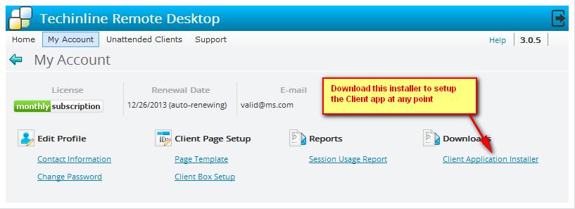 Option #2: Download Installer