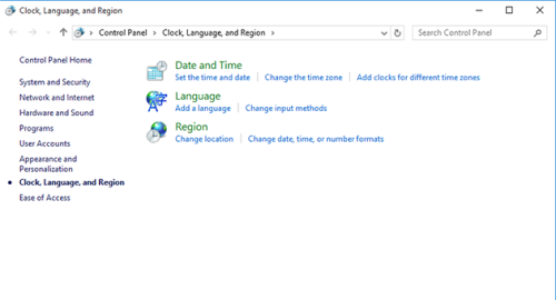 How to Change the Language of Welcome Screen in Windows 10
