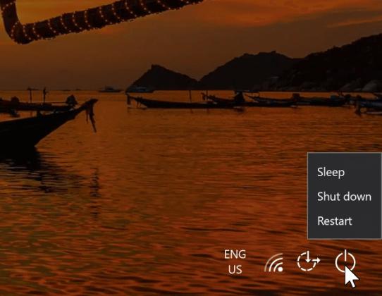 Windows Login Loop Restart Button